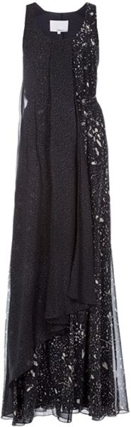 3.1 Phillip Lim Maxi Dress in Black - Lyst
