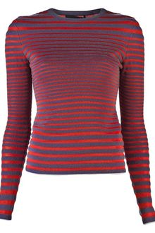 Alexander Wang Engineered Stripe Top - Lyst