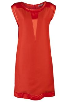 Bottega Veneta Sleeveless Shift Dress - Lyst