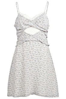 Charlotte Ronson Lace and Floral Dress - Lyst