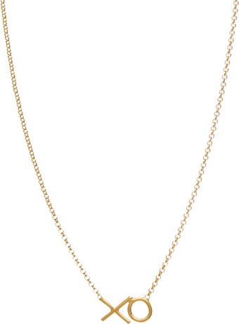 Dogeared Dogeared Xo Necklace - Lyst