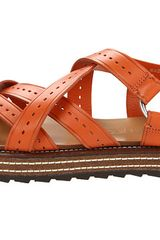 Dsquared2 Sandal Uboat in Orange (v) - Lyst