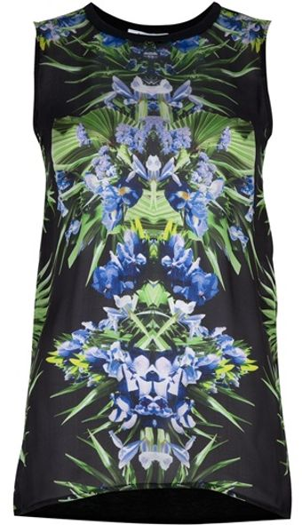 Givenchy Flower Print Top - Lyst