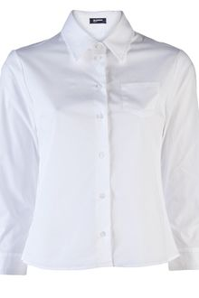 Jil Sander Navy Three Quarter Sleeve Shirt - Lyst