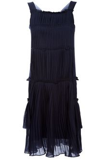 P.a.r.o.s.h. Pleated Dress - Lyst
