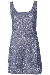 P.a.r.o.s.h. Sequinned Dress - Lyst