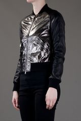 Pierre Balmain Biker Jacket in Black - Lyst