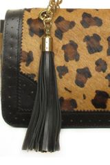 Sara Berman Jean Chain Tote Leopard in Animal (leopard) - Lyst