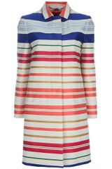 Stella McCartney Deckchair Stripe Coat