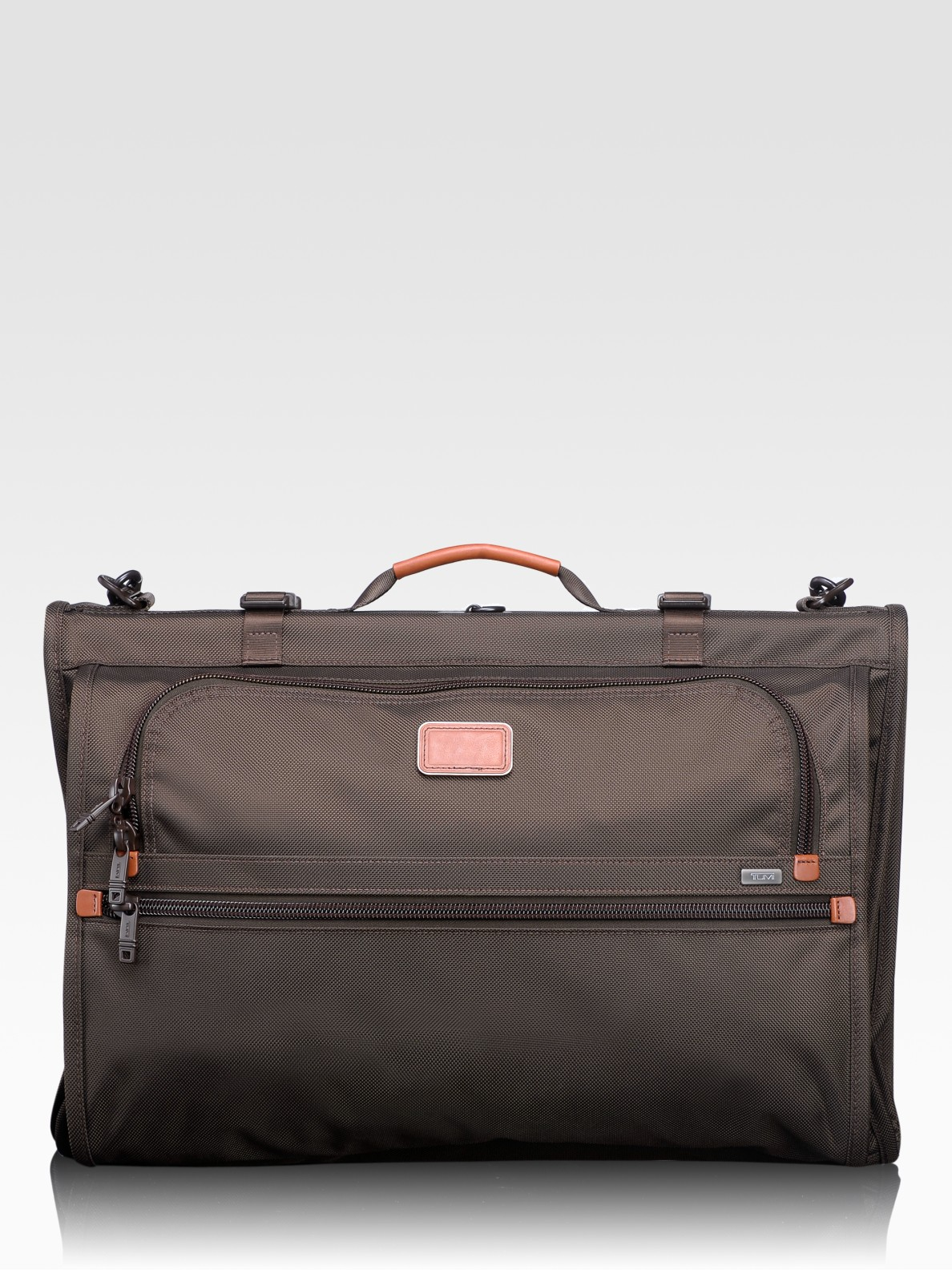 8c0d539e63 Lyst - Tumi Alpha Tri-fold Carry-on Garment Bag in Brown for Men