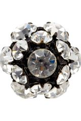 Vintage Jewels Crystal Ring - Lyst