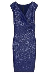 Elie Saab Full Sequin Dress - Lyst