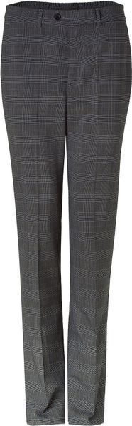 Ermanno Scervino Grey Plaid Wool Blend Pants in Gray for Men (grey) - Lyst