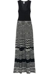M Missoni Knitted and Crochet Knit Maxi Dress - Lyst