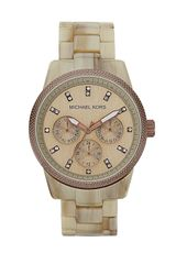 Michael by Michael Kors 'Ritz' Crystal Index Bracelet Watch - Lyst