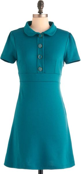 Modcloth Herbs To Taste Dress in Green (mint) - Lyst