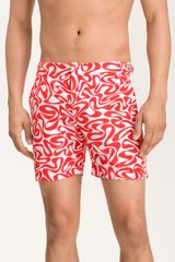 Orlebar Brown Bulldog Water Print Swim Trunks - Lyst