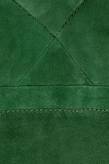 See By Chloé Suede Mini Dress in Green - Lyst