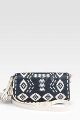 Tory Burch Claire Crossbody Bag in Blue (navy) - Lyst