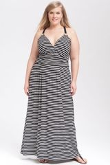 Vince Camuto Stripe Maxi Dress - Lyst