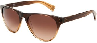 7 For All Mankind Arieta Round Sunglasses - Lyst