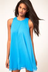 ASOS Collection Asos Swing Dress with Double Layer - Lyst