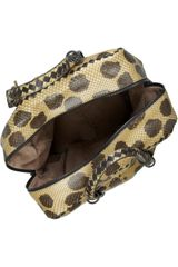 Bottega Veneta Intrecciato Python and Leather Tote in Multicolor (multicolored) - Lyst