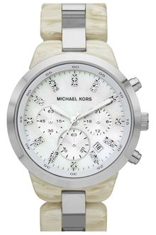 Michael by Michael Kors Michael Kors Showstopper Chronograph Bracelet Watch - Lyst
