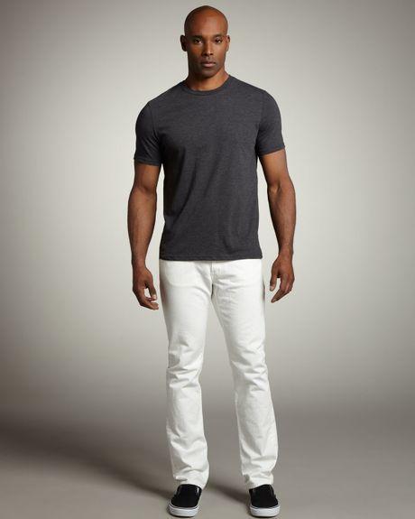 J Brand Kane Mast White Jeans in White for Men (mast white) | Lyst