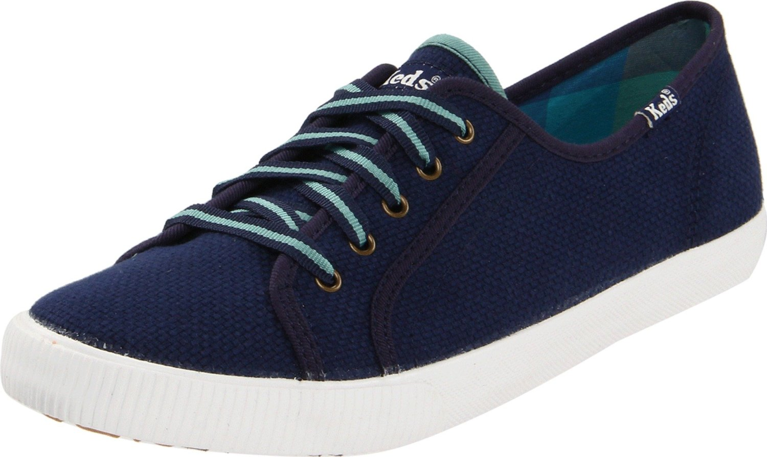 Keds Celeb Canvas Lace Up Fashion Sneaker In Blue (navy) | Lyst