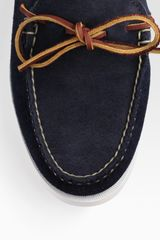 Ralph Lauren Bainstead Boat Shoes in Blue for Men (navy) - Lyst