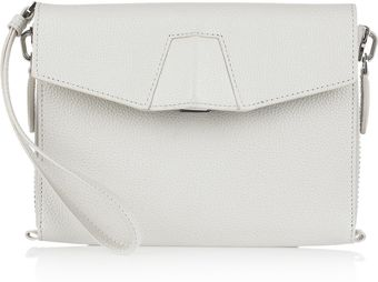 Alexander Wang Lydia Leather Clutch - Lyst