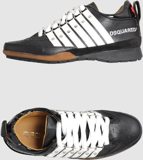 Dsquared2 Sneakers in Black - Lyst