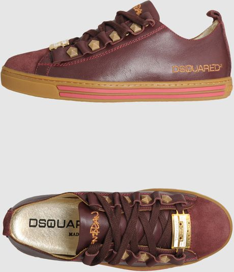 Dsquared2 Dsquared2 Sneakers in Brown (purple) - Lyst