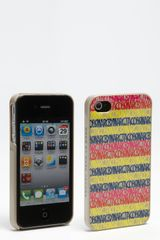 Marc By Marc Jacobs Linear Logo Iphone 4 4s Case - Lyst
