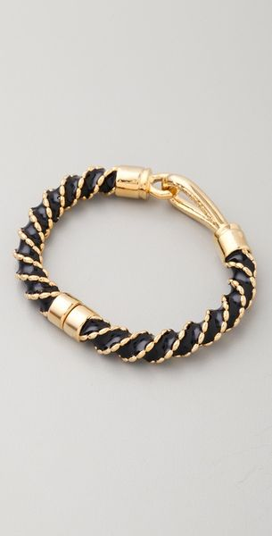 Rachel Leigh Singita Eternity Bracelet in Black - Lyst