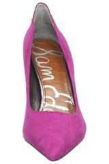 Sam Edelman Portney Pump in Pink (watermelon rush) - Lyst