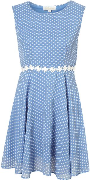Topshop Dasha Dress By Goldie - Lyst
