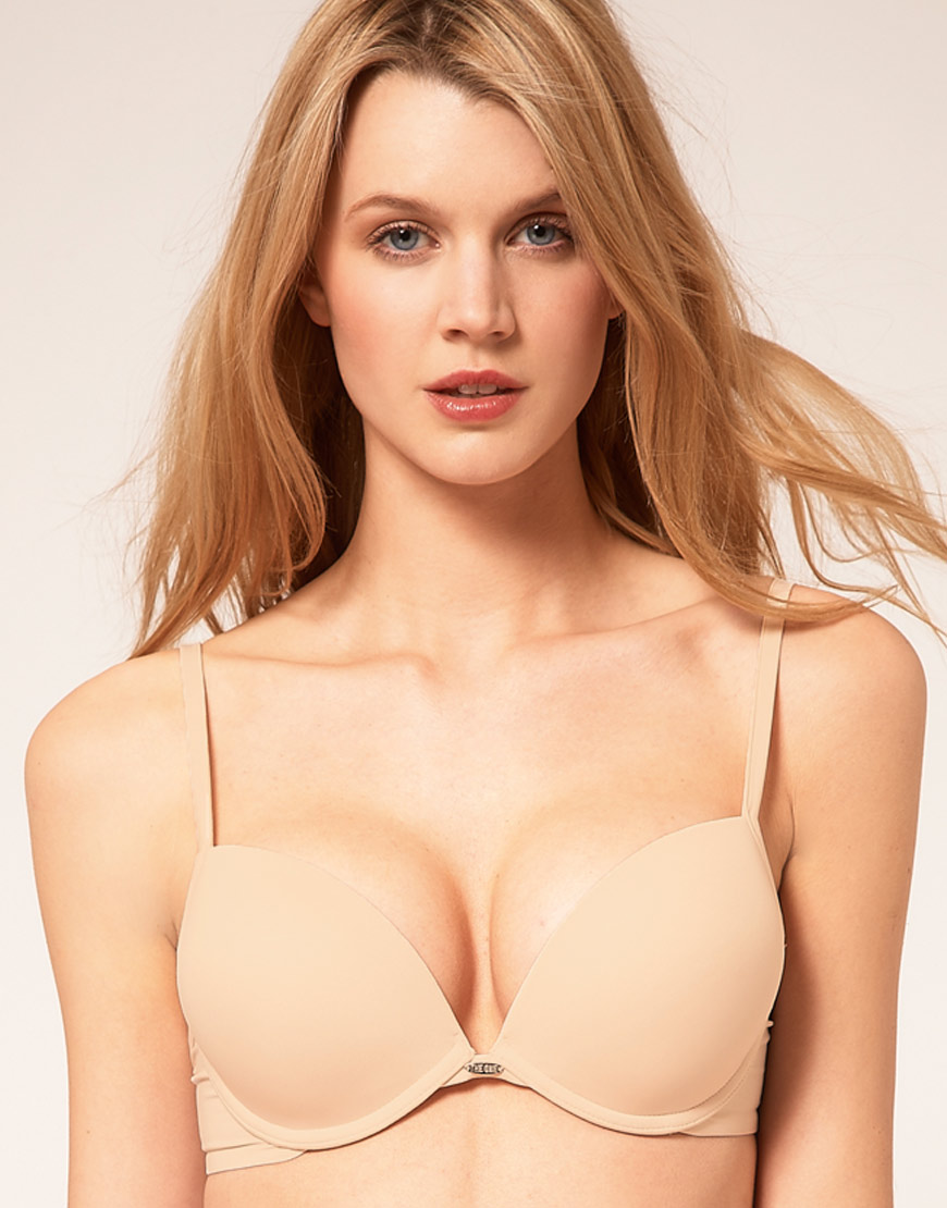 0a4259bf68 Lyst - Ultimo The One Bra in Natural