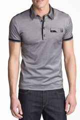 Versace Slim Fit Polo - Lyst
