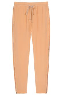 3.1 Phillip Lim Side Zip Silk Pants - Lyst