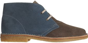 Co-op Barneys New York Bicolor Chukka - Lyst