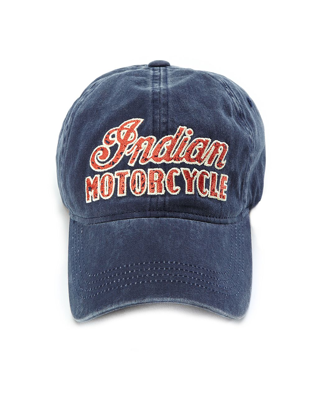 Lucky Brand Indian Motorcycle Baseball Cap In Blue For Men