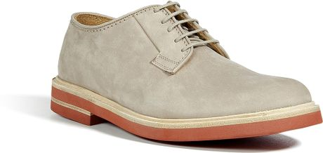 Marc Jacobs Sand Suede Derby Shoes in Beige for Men (sand) - Lyst
