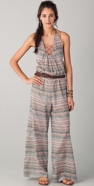Nightcap Clothing Saki Jumpsuit in Multicolor (lagoon) - Lyst