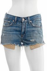 Rag & Bone The Mila Shorts - Lyst