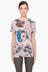 Christopher Kane Light Pink Scrapbook Tshirt - Lyst