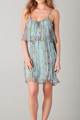 Ella Moss Aztec Dress - Lyst