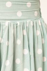 Mink Pink Peppermint Patty Polka Dot Skirt in Green (mintspot) - Lyst