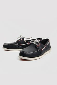 Sperry Top-sider Sperry Topsider Authentic Original Burnished Black - Lyst